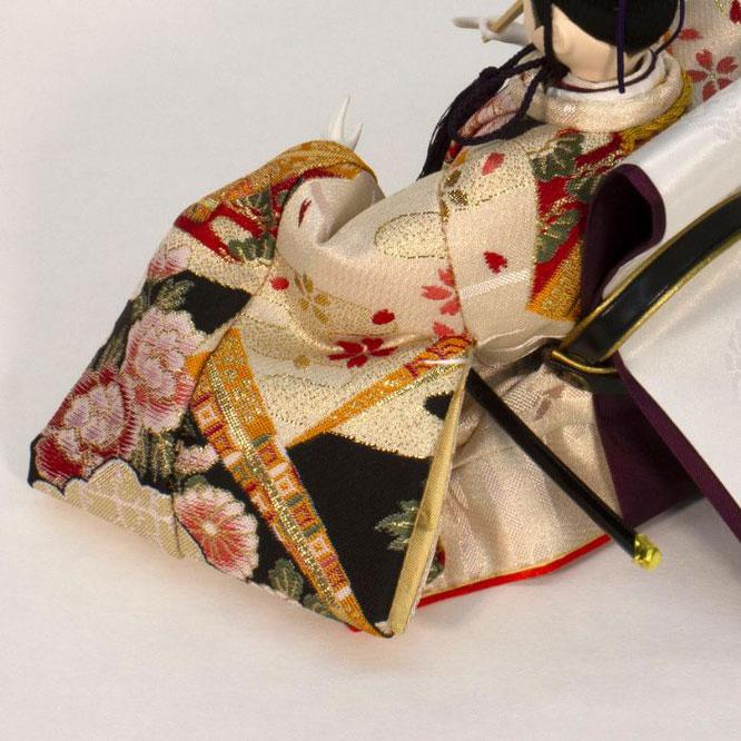 ひな人形 親王収納箱飾り 4H12-GP-071A 男雛(横)