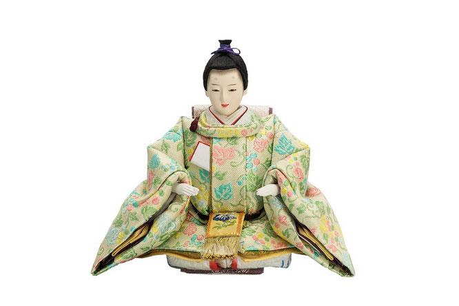 優香作ひな人形 蔓葡萄 男雛(京十三)