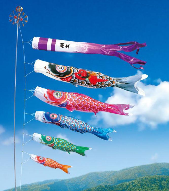大型鯉のぼり「金太郎 大翔」について