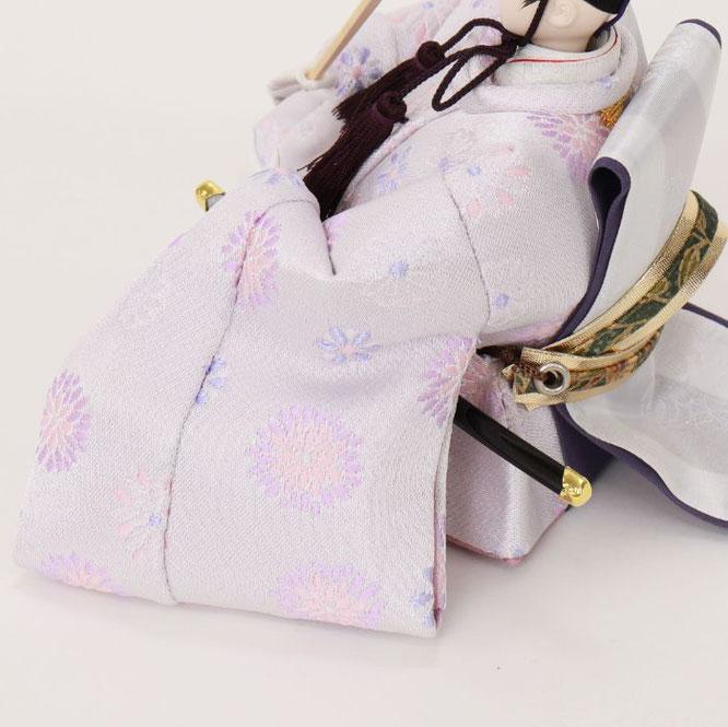 ひな人形 親王収納箱飾り 4H12-GP-064G 男雛(横)