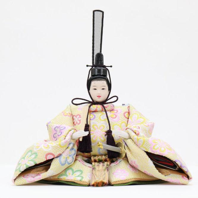ひな人形 五人収納箱飾り 4H16-GP-019 男雛(正面)