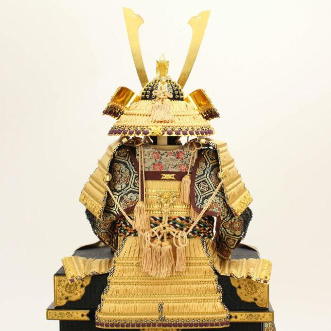 平安光雲作「京製 大鎧12号平飾り」 鎧の背面