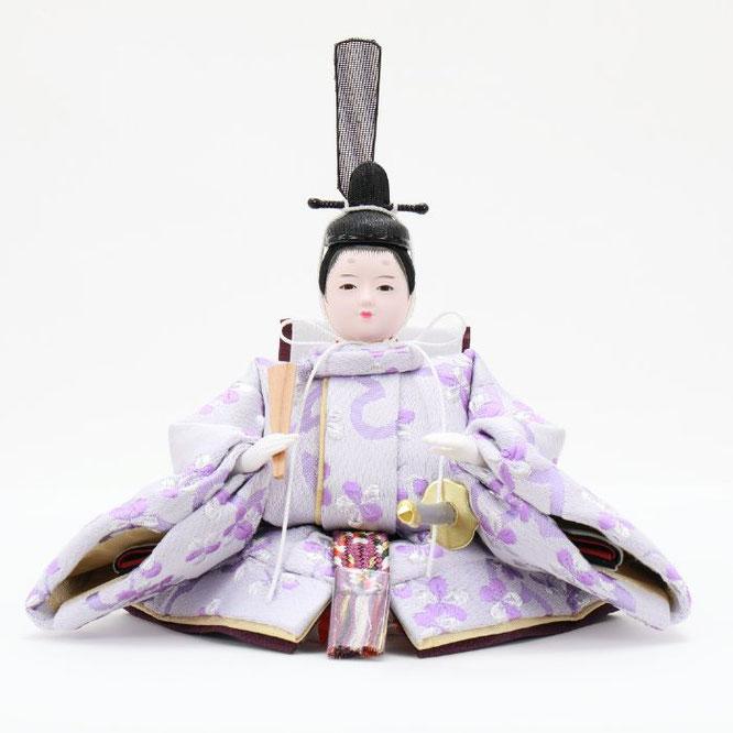ひな人形 親王収納箱飾り 4H12-GP-078 男雛(正面)
