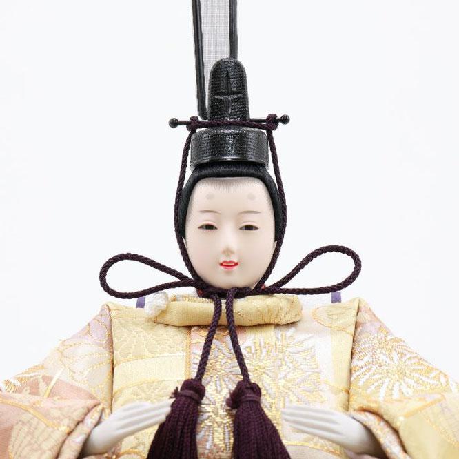 ひな人形 五人飾り 4H15-GP-032 男雛(顔)