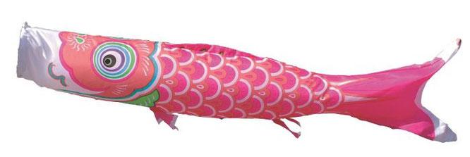 女の子用ピンク鯉「友禅鯉」