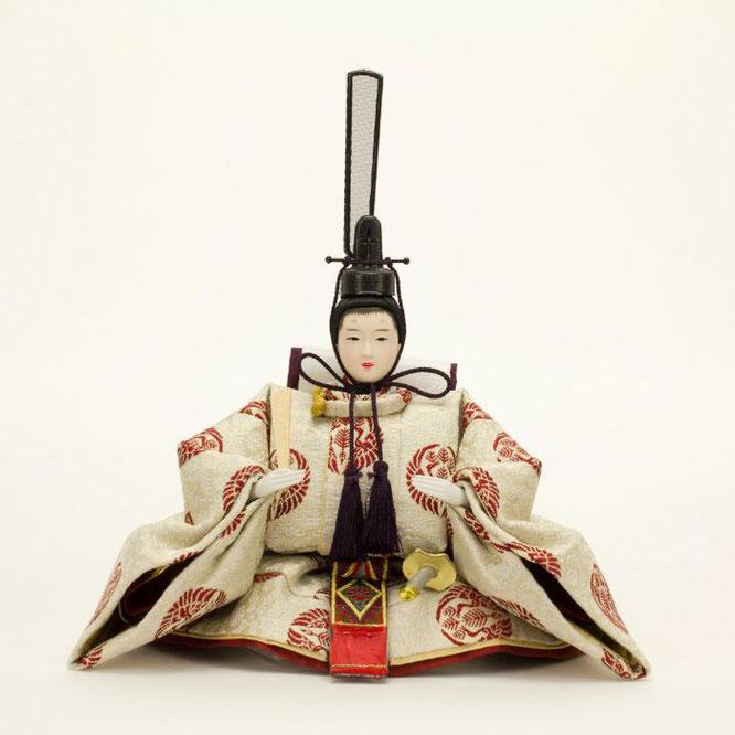 ひな人形 親王飾り 4H11-GP-049 男雛(正面)