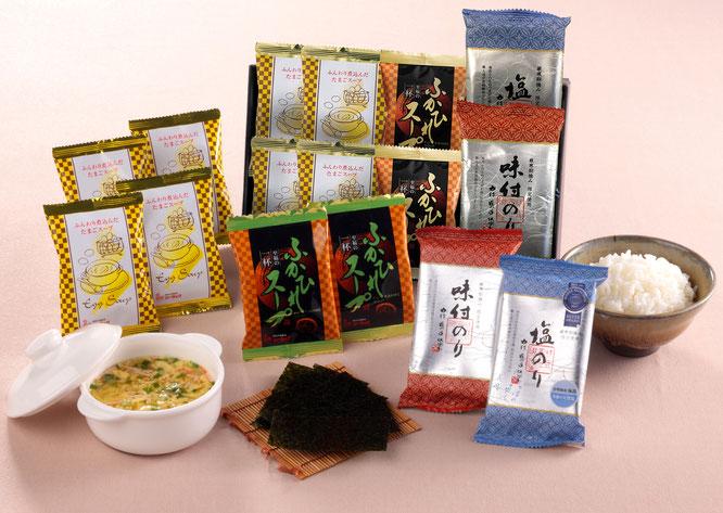 初盆用返礼品 和食文化セット 1,500円(税込価格1,620円)