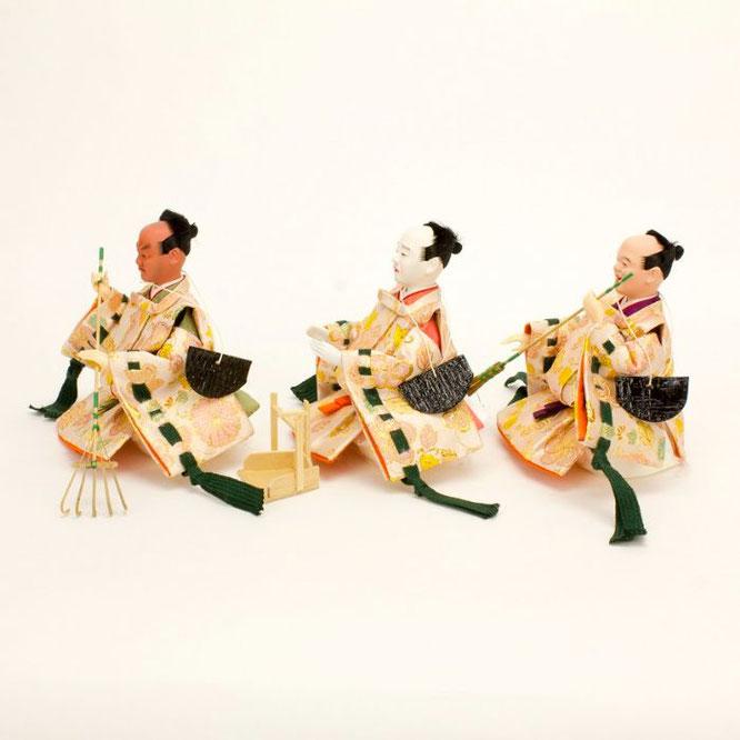ひな人形 十五人飾り 4H18-GP-901A 仕丁(横)