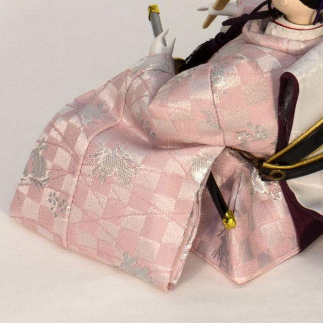 ひな人形 五人収納箱飾り 4H16-GP-020 男雛(横)
