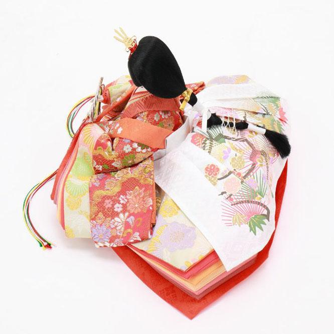 ひな人形 五人飾り 4H15-GP-007 女雛(横)