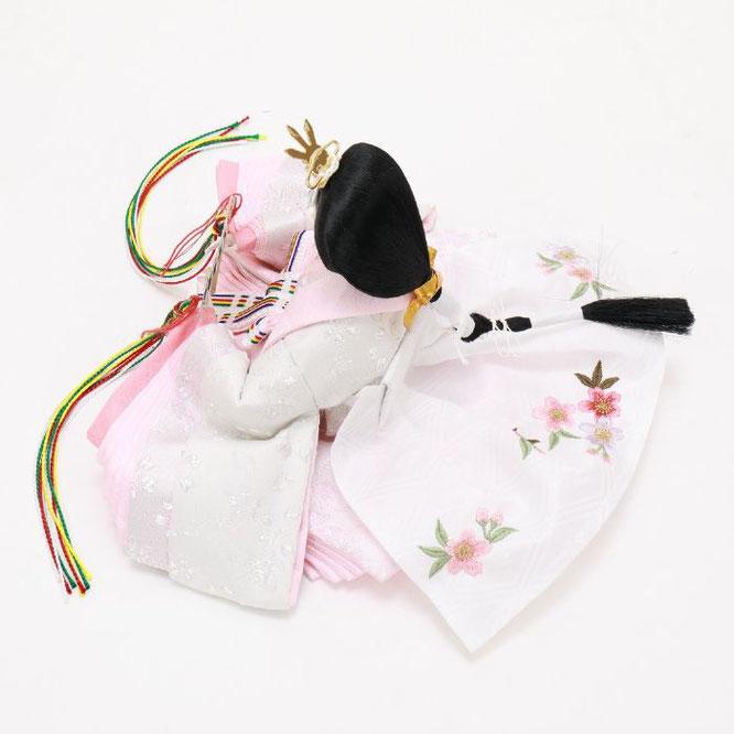 ひな人形 五人収納箱飾り 4H16-GP-022 女雛(横)