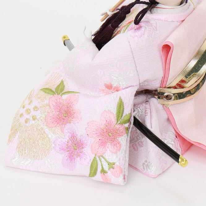 ひな人形 親王飾り 4H11-GP-035 男雛(横)
