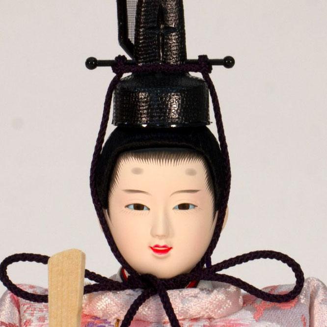 ひな人形 五人収納箱飾り 4H16-GP-018C 男雛(正面)