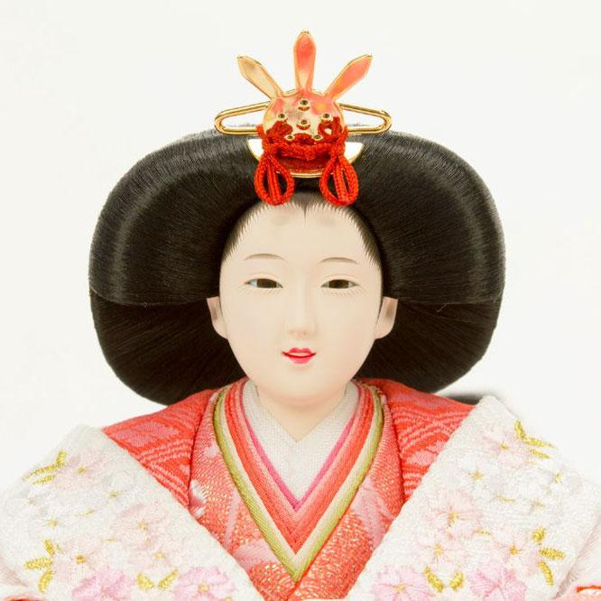 ひな人形 親王飾り 4H11-GP-043 女雛(顔)