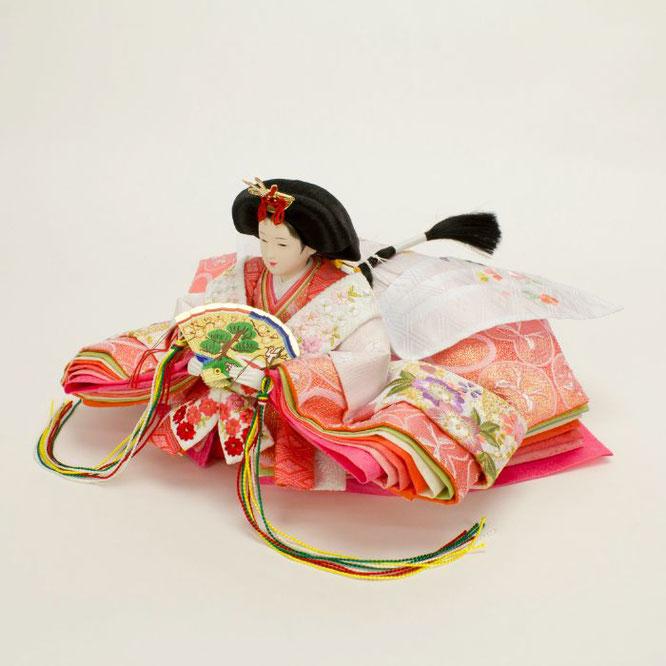 ひな人形 親王飾り 4H11-GP-043 女雛(横)