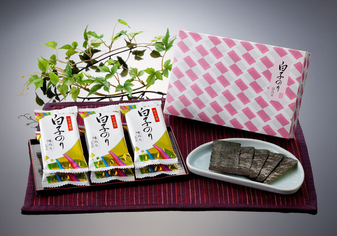 初盆用返礼品 白子のり 味のり詰合せ 1,000円(税込価格1,080円)