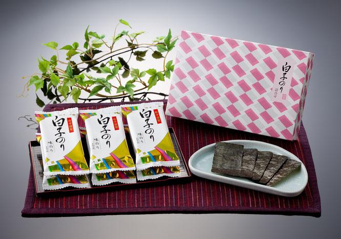 初盆用返礼品 白子のり 味のり詰合せ 1,080円