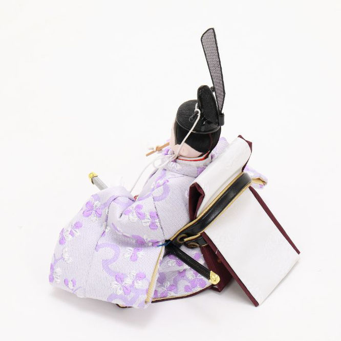 ひな人形 親王収納箱飾り 4H12-GP-078 男雛(横)