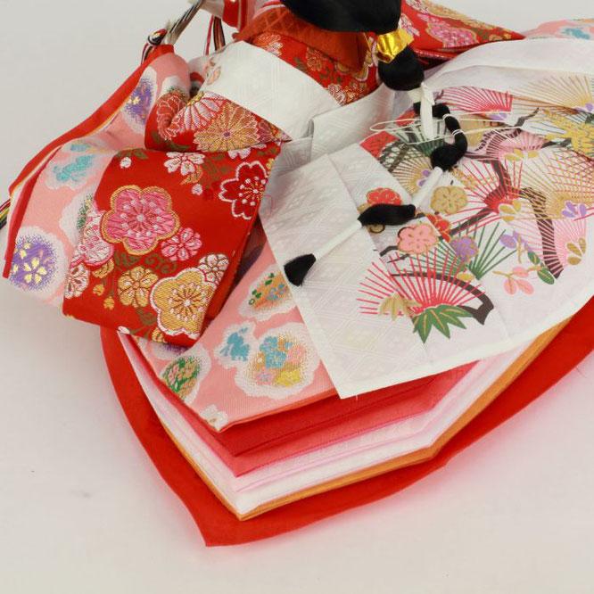 ひな人形 五人飾り 4H15-GP-003A 女雛(横)