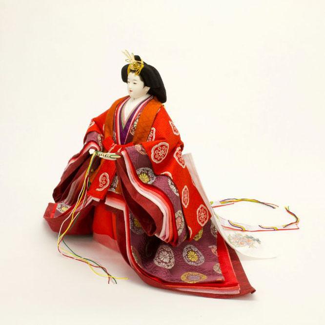 ひな人形 立雛飾り 4H13-GP-302 女雛(横)