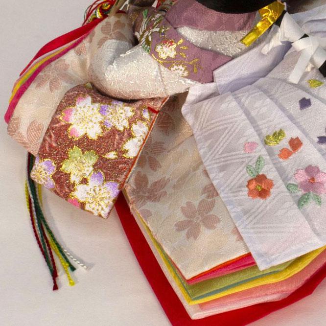 ひな人形 親王飾り 4H11-GP-050A 女雛(横)