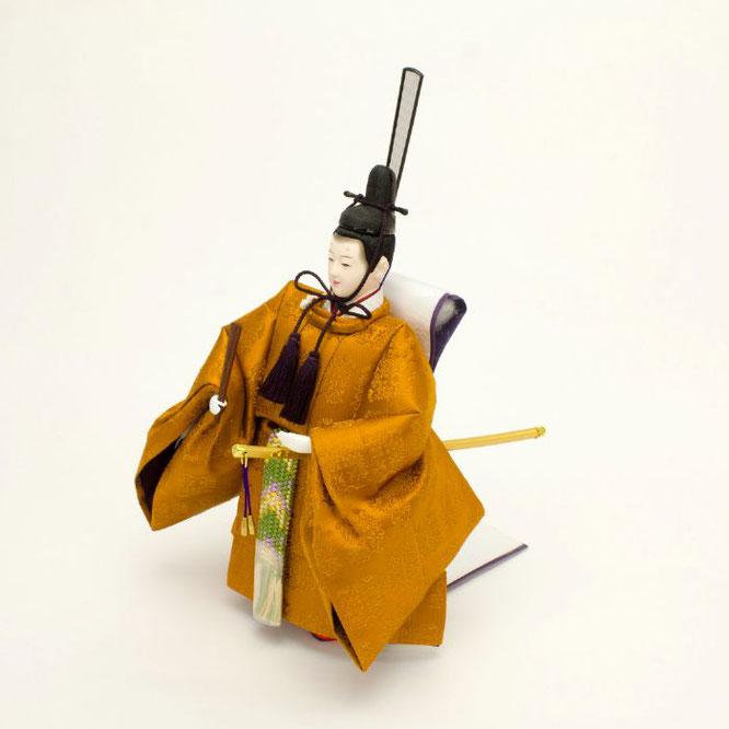 ひな人形 立雛飾り 4H13-GP-304 男雛(横)