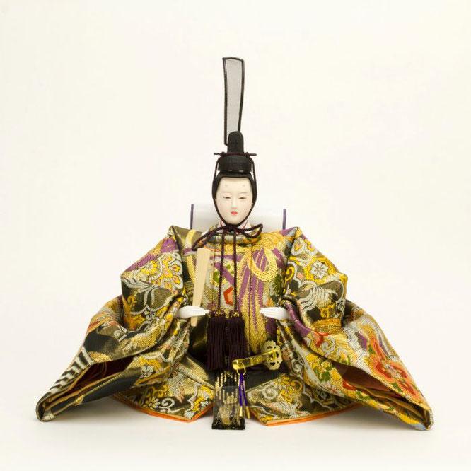 ひな人形 五人飾り 4H15-GP-002 男雛(正面)