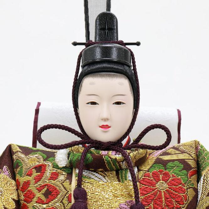 ひな人形 五人飾り 4H15-GP-007 男雛(顔)