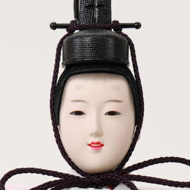 ひな人形 親王収納箱飾り 4H12-GP-070G 男雛(正面)