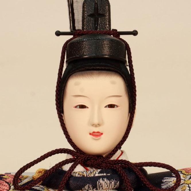ひな人形 五人飾り 4H15-GP-008A 男雛(正面)