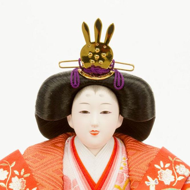 ひな人形 十五人飾り 4H18-GP-901A 女雛(顔)
