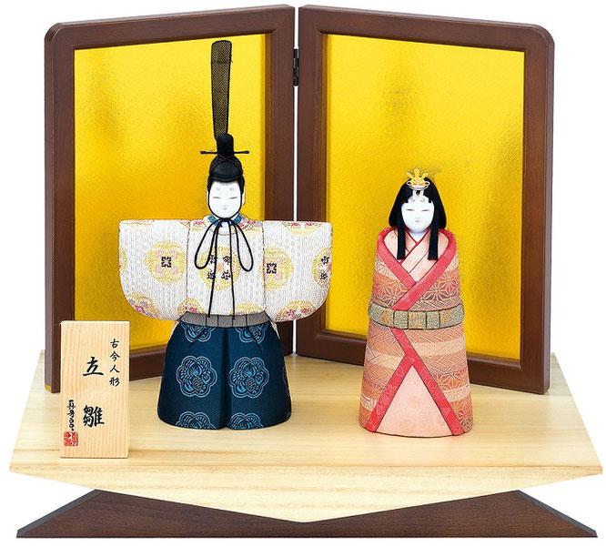 真多呂人形「春明立雛セット」品番:1179