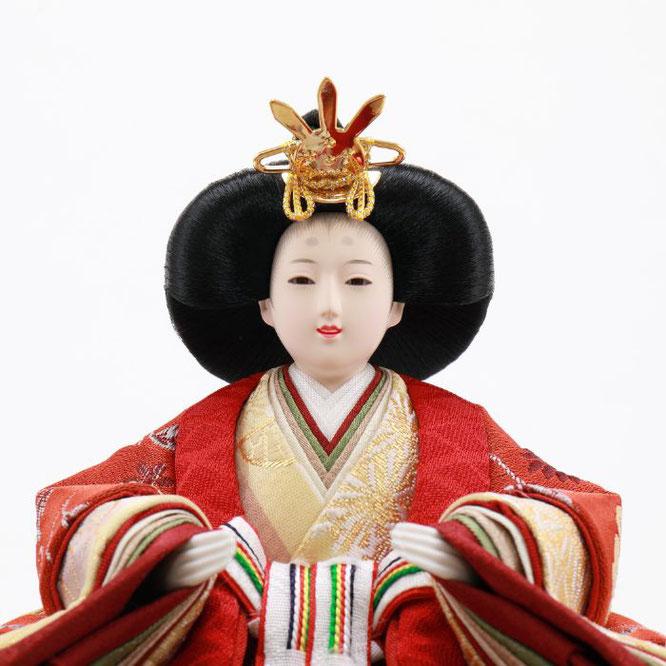 ひな人形 五人飾り 4H15-GP-032 女雛(顔)