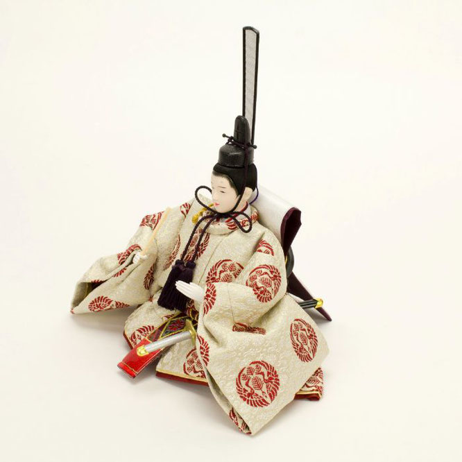 ひな人形 親王飾り 4H11-GP-049 男雛(横)