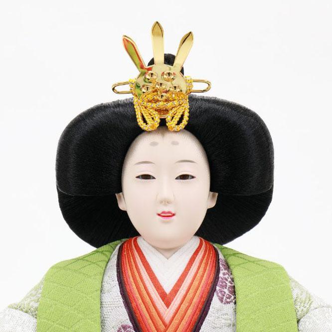ひな人形 五人飾り 4H15-GP-005 女雛(顔)