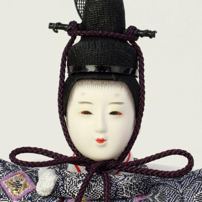 ひな人形 親王収納箱飾り 4H12-GP-066A 男雛(正面)