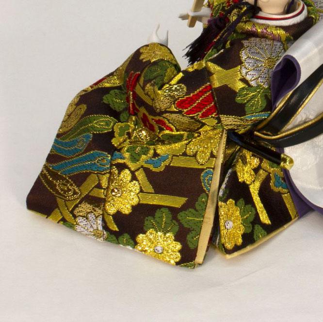 ひな人形 五人収納箱飾り 4H16-GP-016A 男雛(横)