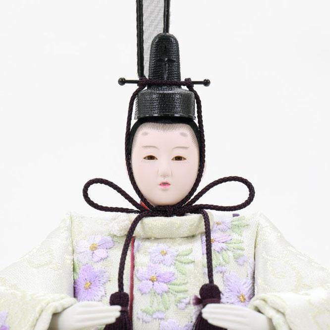 ひな人形 五人収納箱飾り 4H16-GP-027 男雛(顔)