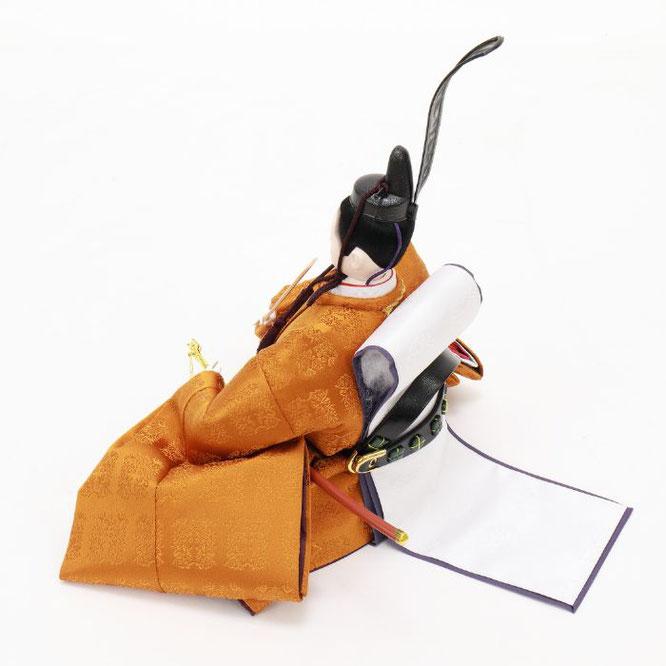 ひな人形 五人飾り 4H15-GP-005 男雛(横)
