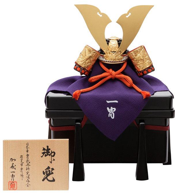 一冑作「四分の一 竹雀兜」 品番:5-01-0113