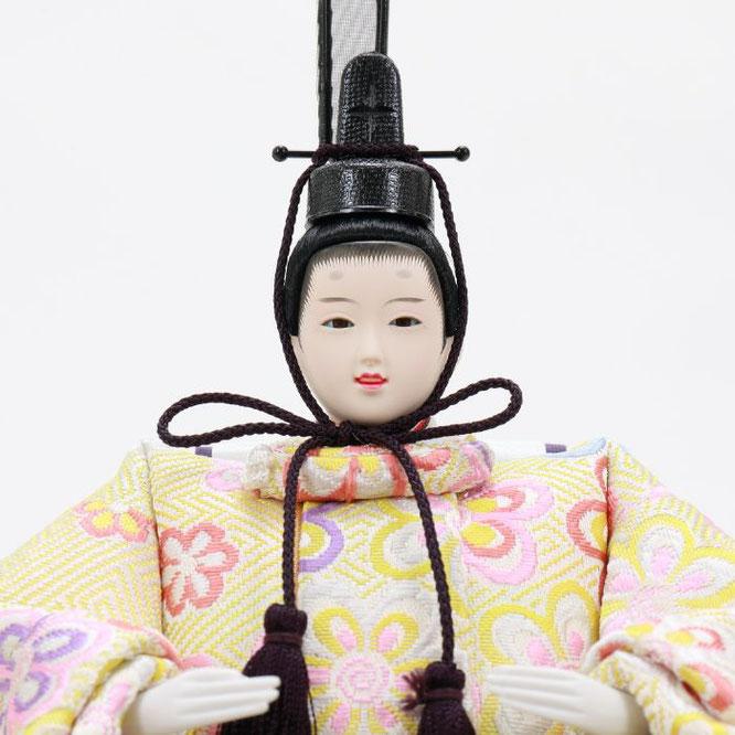 ひな人形 五人収納箱飾り 4H16-GP-019 男雛(顔)