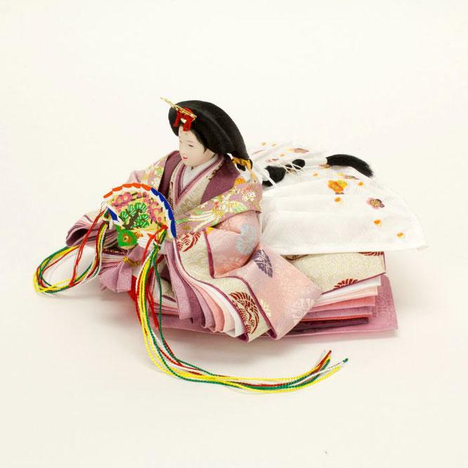 ひな人形 親王飾り 4H11-GP-049 女雛(横)