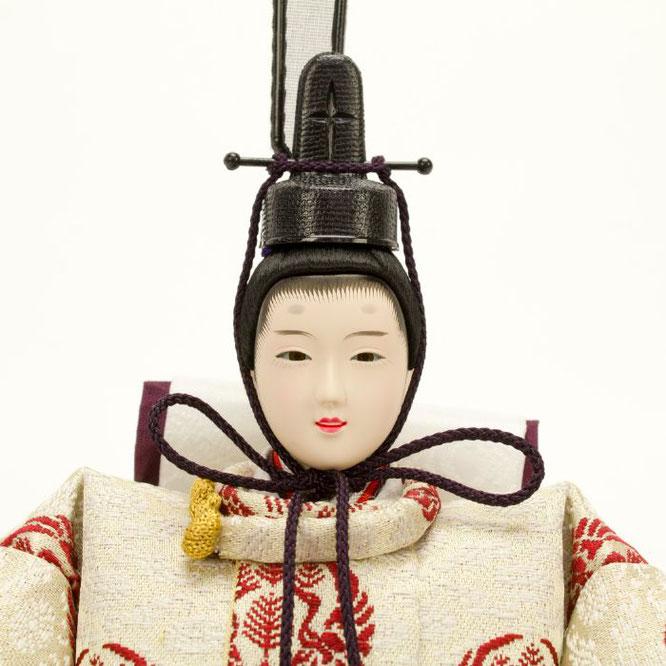 ひな人形 親王飾り 4H11-GP-049 男雛(顔)