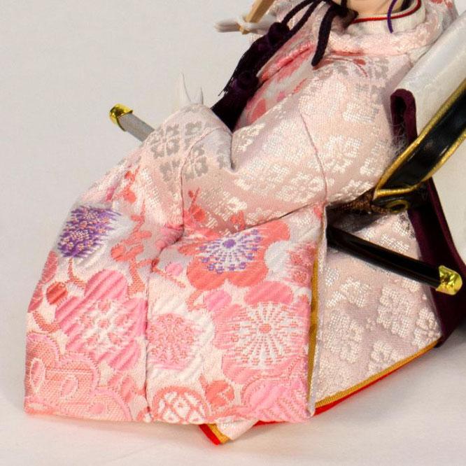 ひな人形 五人収納箱飾り 4H16-GP-018C 男雛(横)