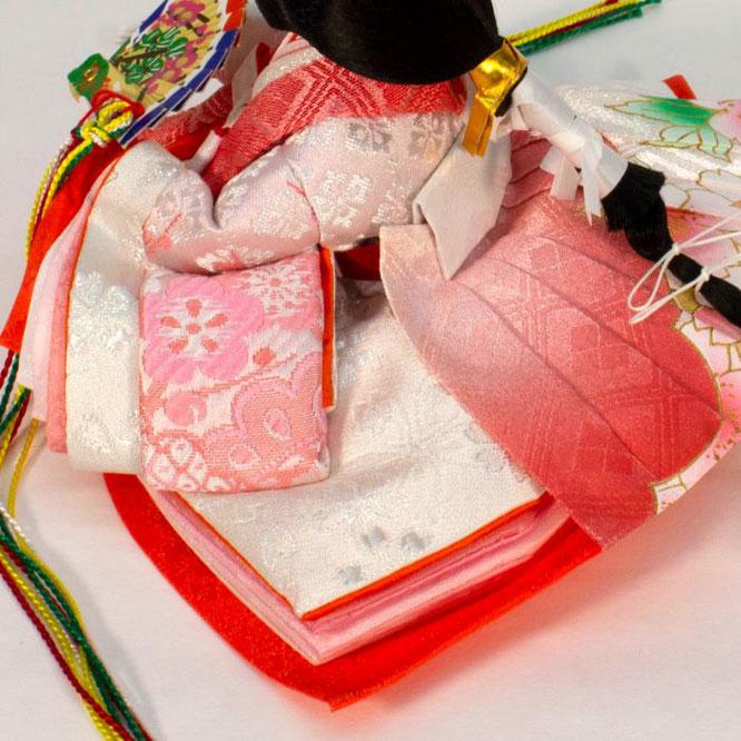 ひな人形 五人収納箱飾り 4H16-GP-018C 女雛(横)