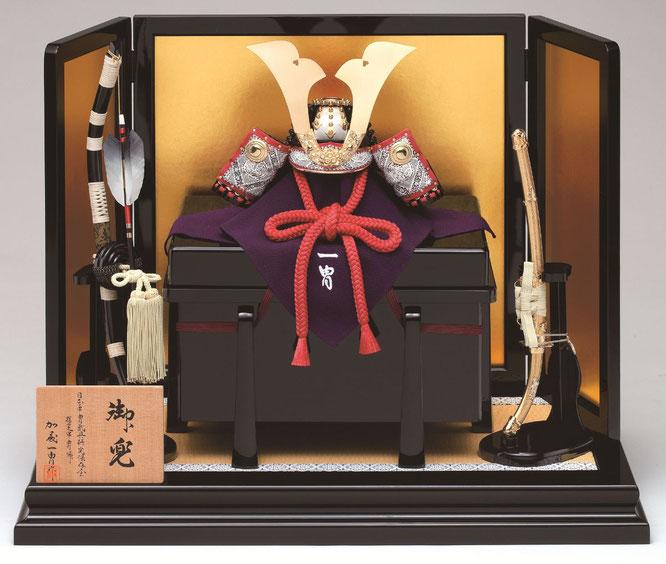 一冑作「三分の一 小桜革兜飾りセット」 品番:3131