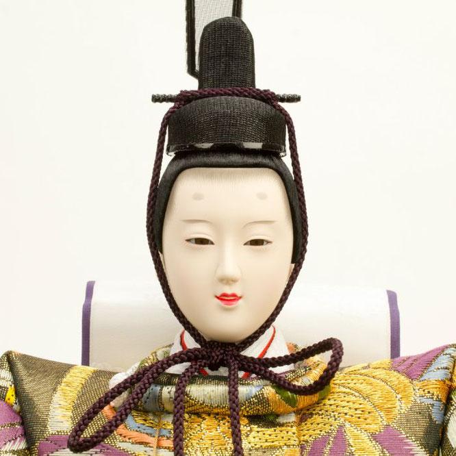 ひな人形 五人飾り 4H15-GP-002 男雛(顔)