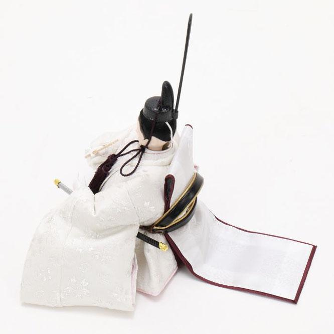 ひな人形 五人収納箱飾り 4H16-GP-022 男雛(横)
