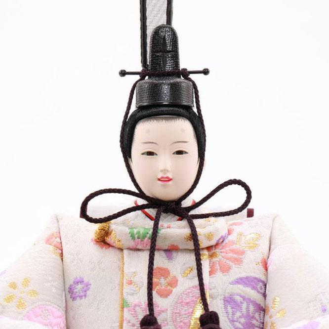 ひな人形 五人収納箱飾り 4H16-GP-017C 男雛(顔)
