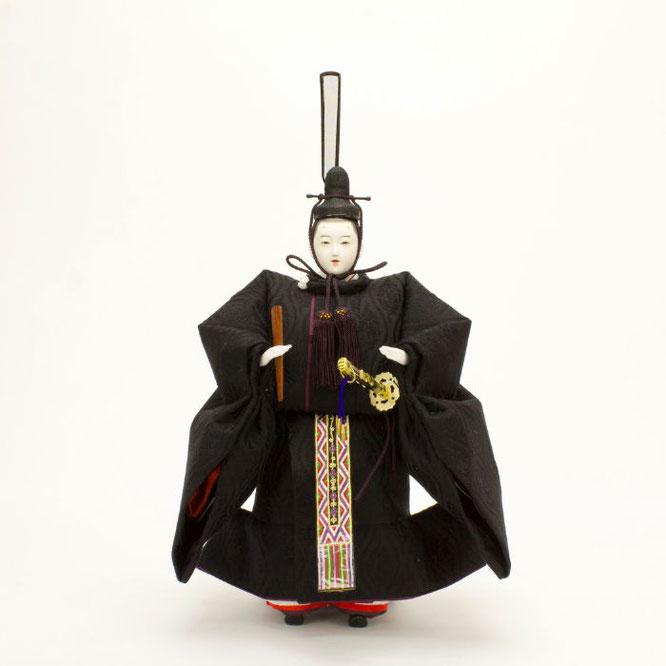 ひな人形 立雛飾り 4H13-GP-302 男雛(正面)